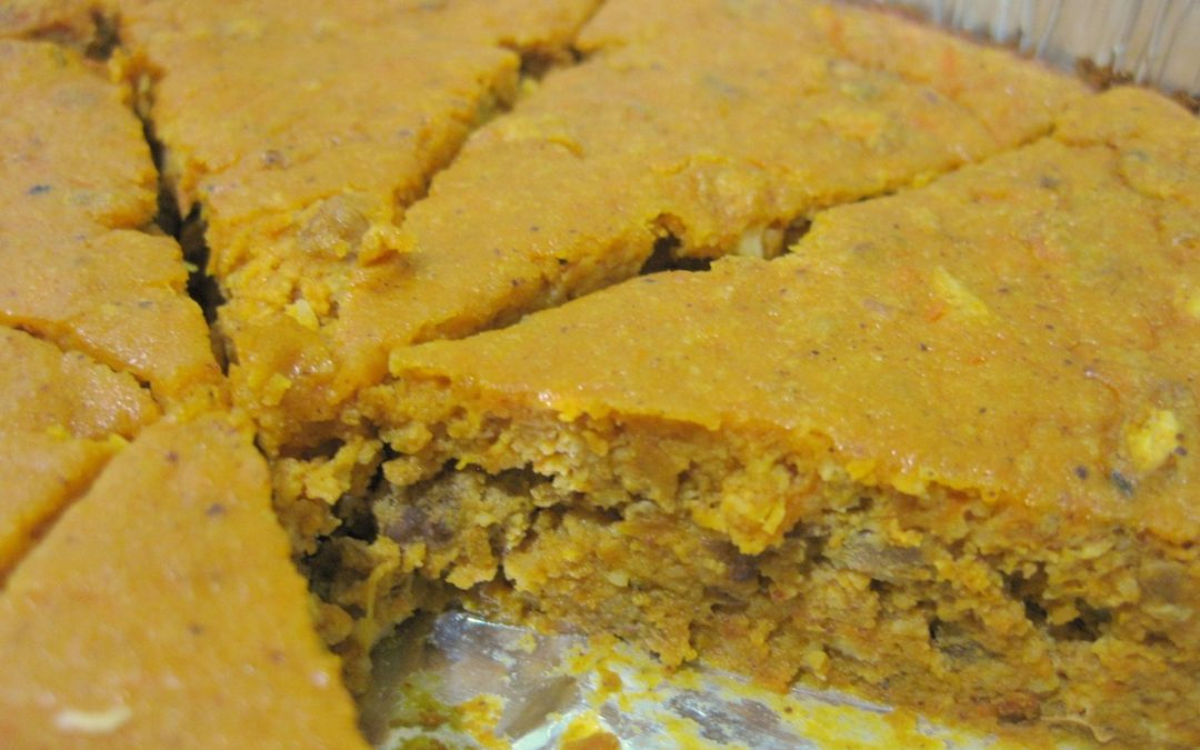 Recipe: Paleo Spiced Pumpkin Walnut Cake [Dairy-free, Nut-free Option]