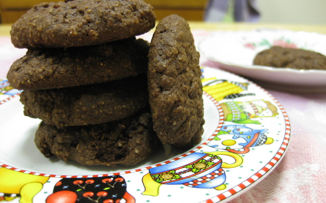 Recipe: Chocolate Orange-Cardamom Cookies