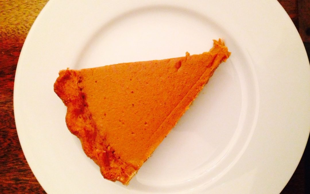 Recipe: Pumpkin Pie with Pecan Meal Crust [Paleo, Grain-Free, Egg-Free, Dairy-Free, AIP Option]