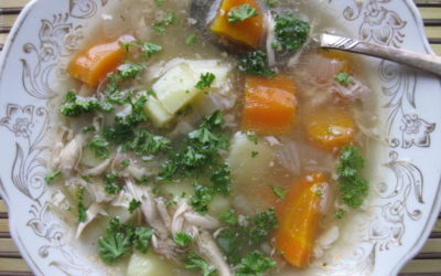 Recipe: Comforting Homemade Chicken Soup