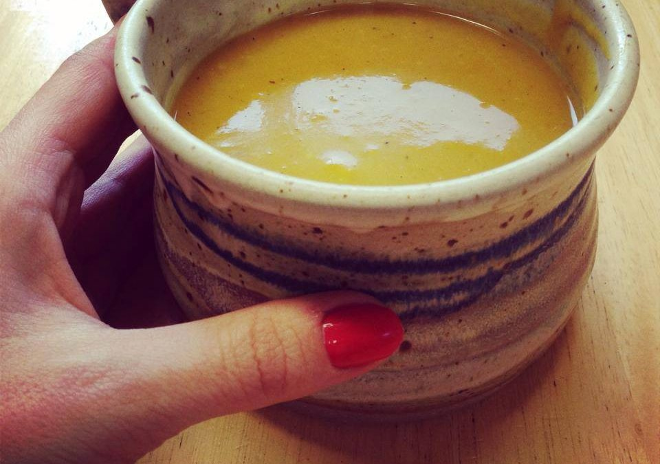 Homemade Roast Butternut Squash Soup